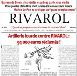 rivarol,europe,identité,résistance,synthèse nationale,liberté