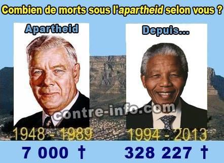 afrique du sud,apartheid,mandela,racisme,criminalité,bourrage de crâne