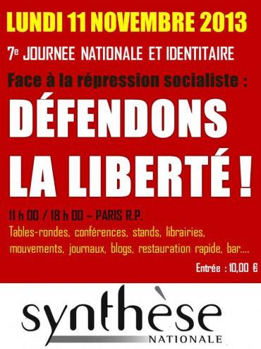 sythèse nationale,europe,france,identité,droite nationale,résistance