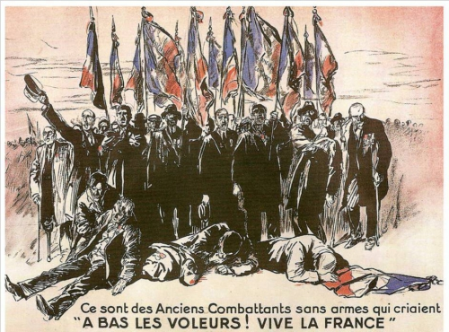france,histoire,6 février 1934,corruption,politiciens,