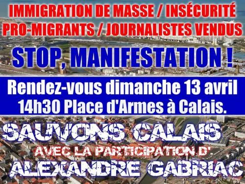 france,Calais,immigration,islamisation,identité,clandestins,résistance