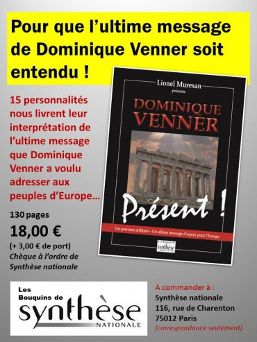 europe,france,identité,droite nationale,synthèse nationale,dominique venner